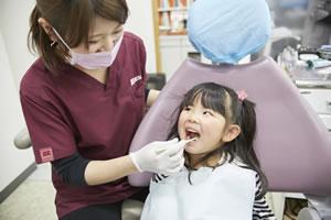 歯磨き指導