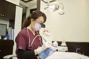 予防歯科をする歯科衛生士